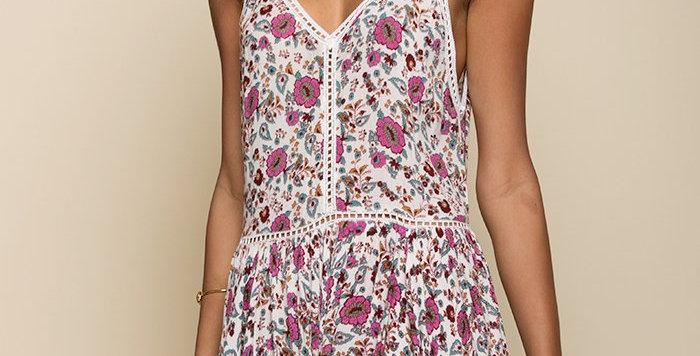Summer Bloom Short Dress