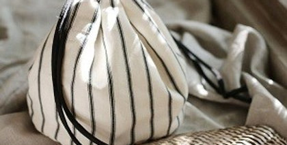 LULU Handwoven pouch bag