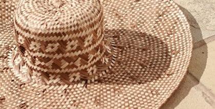 Borneo Tata Woven Hat, in Beige