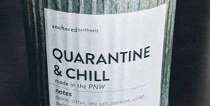 Quarantine & Chill Rustic Cedar wicked soy Candle