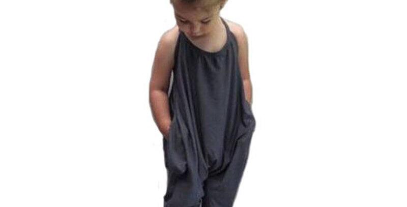 Baby Girls Strap Cotton Pants Jumpsuit Harem Trousers Summer Clothes