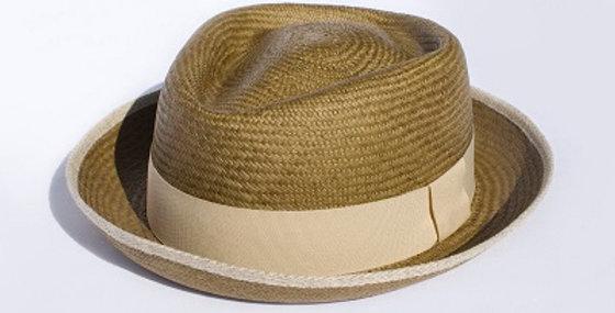 Santana Olive Straw - Short Brimmed Urban Panama Hat