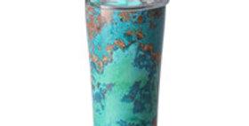 Copper Patina Signature 32oz Tumbler grn/blu