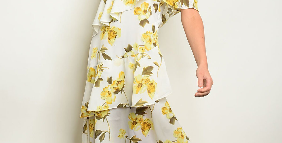 Womens Flowers Dress