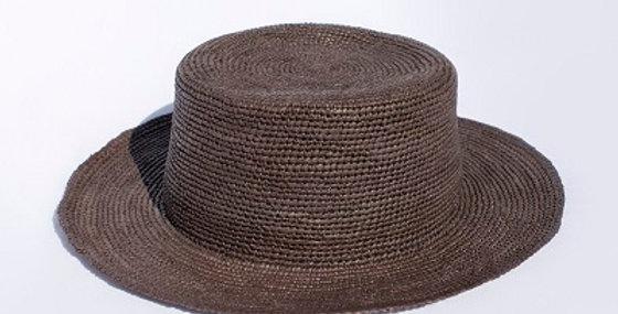 Boater - Crochet Style Panama Hat