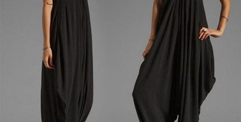 Sleeveless Deep v Neck Jumpsuit Plus Size Summer Spaghetti Strap Rompers