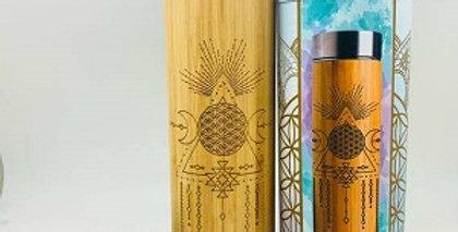 16.9oz Bamboo Tumbler - Gratitude