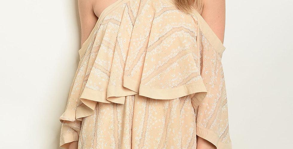 Womens Cold Shoulder Dress
