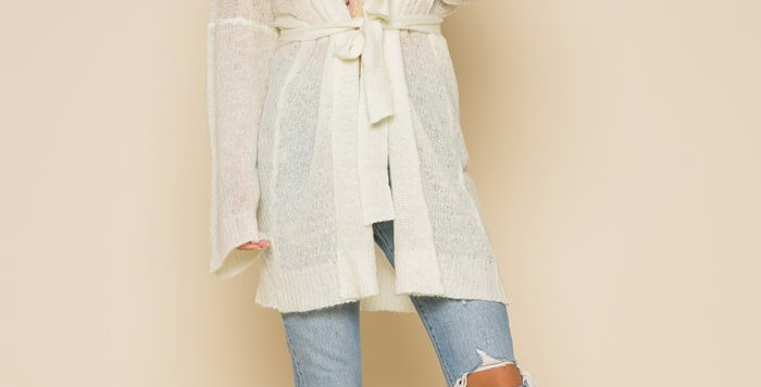 Tia Belted Sweater