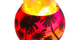 Hawaiian Sunset Salt Lamp Diffuser W/ Dimmer Cord