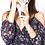 Thumbnail: Wanderlux Women's Cold Shoulder Spaghetti Strap Florence Maxi Faux Wrap Dress