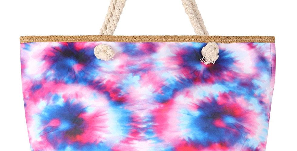 Hdg3218mt - Multicolor Tie Dye Tote Bag