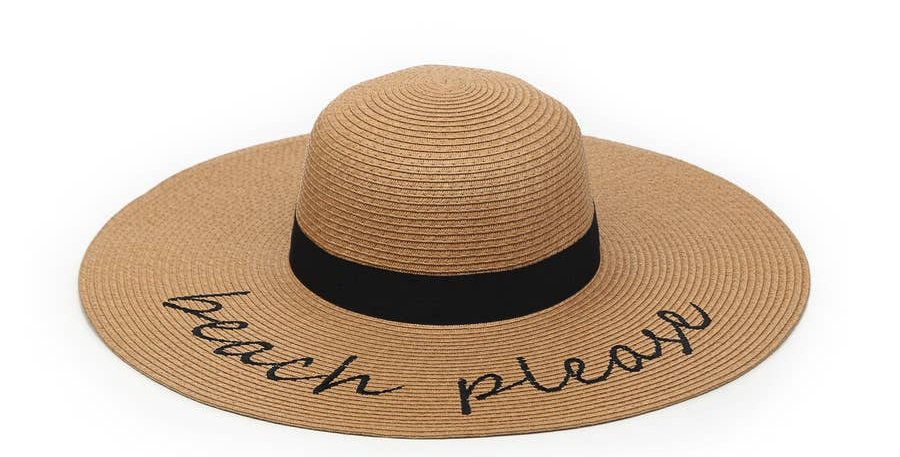 Natural Seagrass Hat