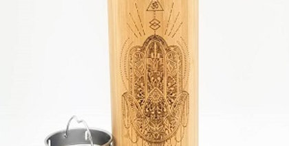 16.9oz Bamboo Tumbler - Peace
