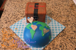 Travel / Retirement Cake