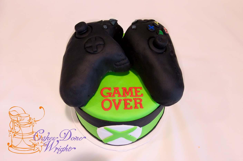 xbox groom cake