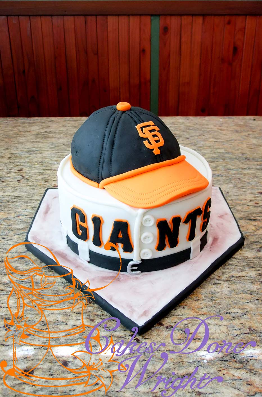 San Francisco Giants Grooms cake