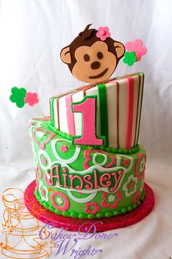 Mod monkey cake