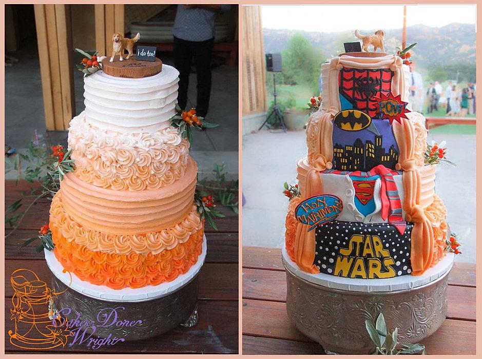 Superhero Wedding Cake. Stunning W Superhero Wedding Cake No With ...