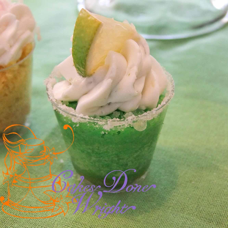 Margarita Cupcake shooters
