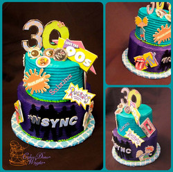 90s cake