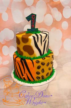 Safari First birthday