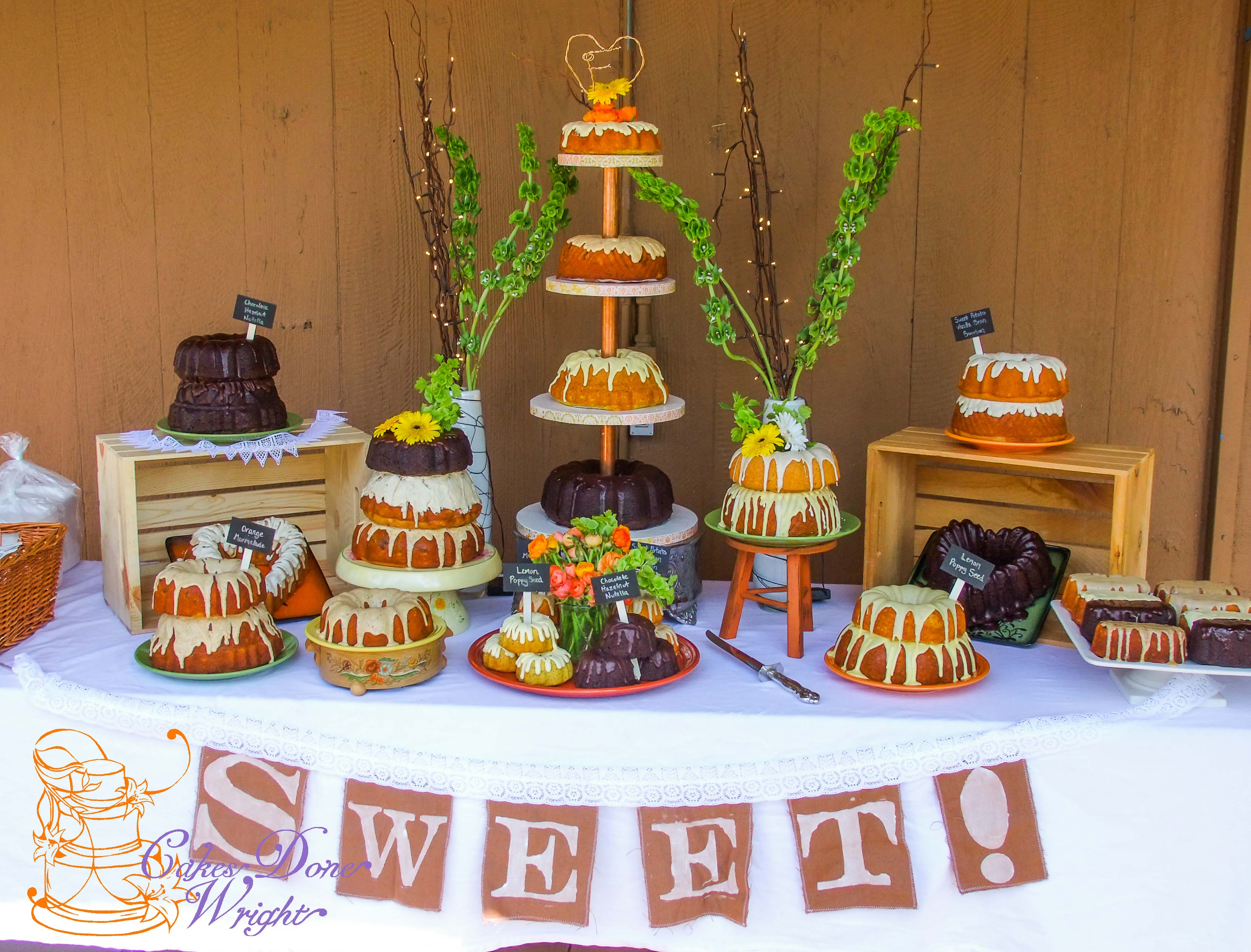 Bundt Cake Wedding