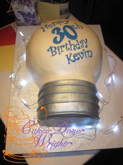 Light Blub cake!