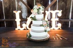 5 tier wedding chic