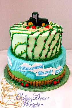 Farm Workers Appreciation Cake