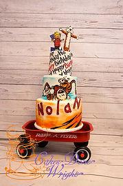 Calvin & Hobbes Birthday Cake