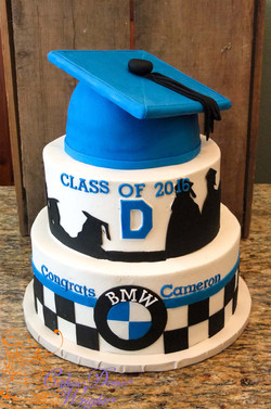 Davis High Graduation cake