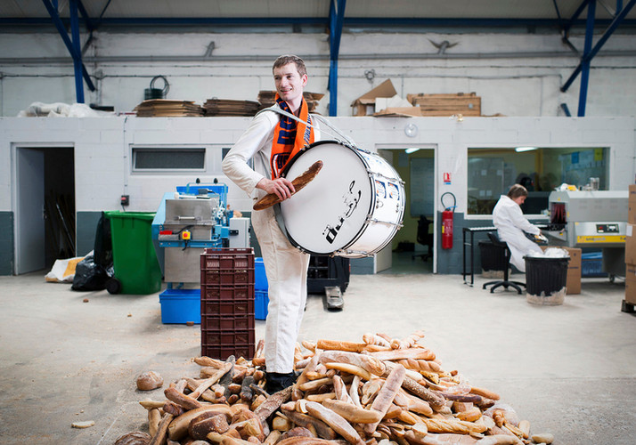 érémy Tange - Les Ateliers du Woestoek Employé dans le recyclage du pain / Musicien de fanfare.