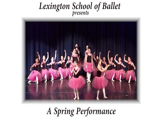 DVD - Lexington School of Ballet May 17, 2012