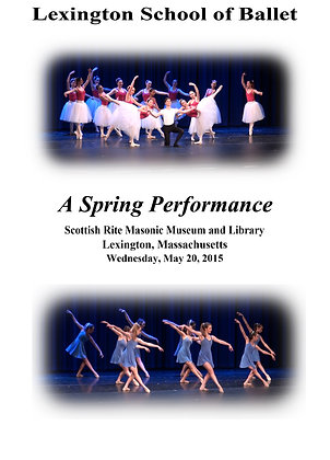 Blu-ray - Lexington School of Ballet May 20, 2015