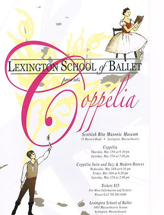 Lexington School of Ballet DVD May 15, 2014