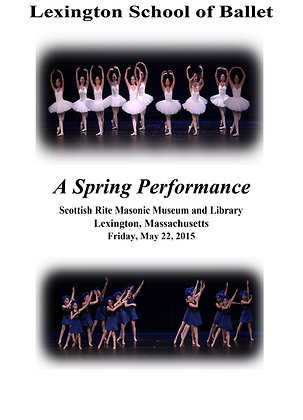 DVD - Lexington School of Ballet May 22, 2015