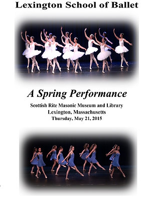 DVD - Lexington School of Ballet May 21, 2015