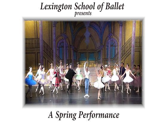 DVD - Lexington School of Ballet May 18, 2012