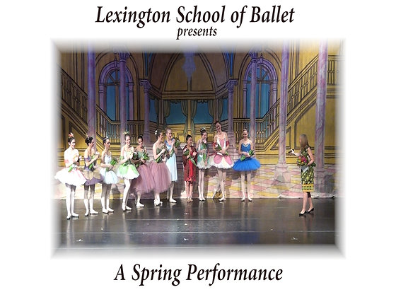 DVD - Lexington School of Ballet May 19, 2012