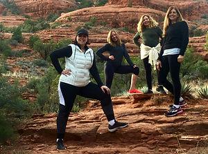 Yoga Hike Sedona Trail Zen BOdhi Being