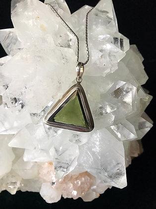 Super Lux Pyramid Moldavite