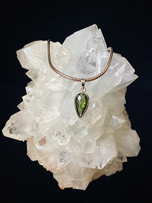 Faceted Lux Moldavite