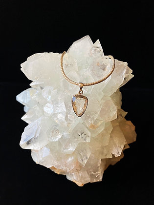 Faceted Angel Quartz