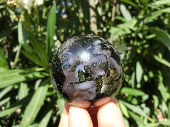 Indigo Gabbro Sphere