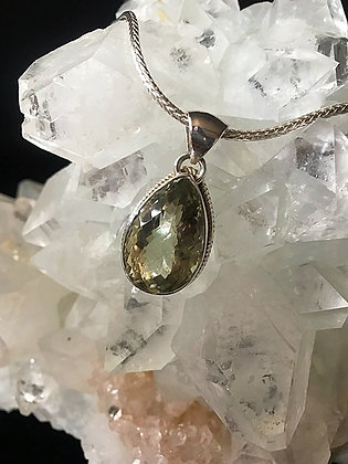 Diamond Cut Green Amethyst