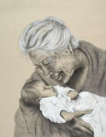A Grandmother's Love (Prints)