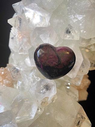 Rare Eudialyte Heart
