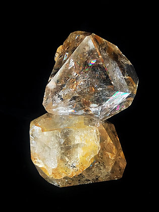 Jupiter Golden Twin Herkimer Diamond
