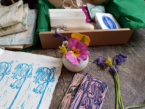 Online Rubber Stamp Carving Session